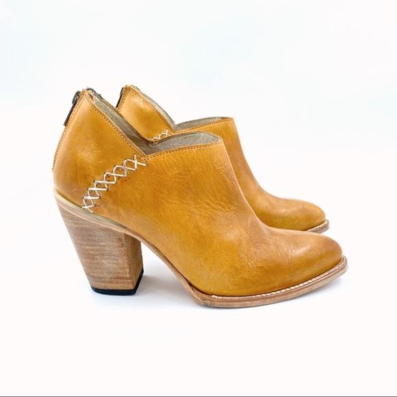 Brown Sz 8 Freebird By Steven Women/'s Steel High Heel Distressed Booties
